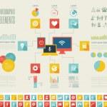 IT Industry Infographic Elements — Stock Vector #38279199