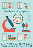 Medical Infographic Template. — Vector de stock