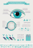 Medical Infographic Template. — Stockvektor