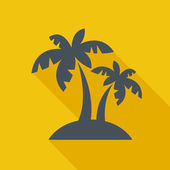 Travel Flat Icon — Stock Vector
