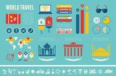 Transportation Infographic Template. — ストックベクタ