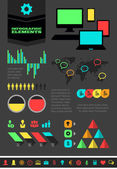 это элементы инфографики промышленности — Cтоковый вектор