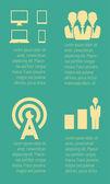 Elementos infográfico. — Vetor de Stock