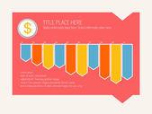 Infographik elemente. — Stockvektor