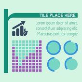 Elementos de infografía. — Vector de stock