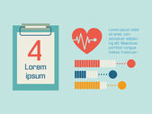 Medical Infographic. — Stockvektor