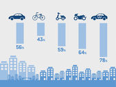 Transportation Infographic Elements. — Stockvektor