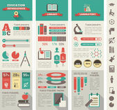 Education Infographics. — Stock Vector