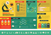 Medical Infographic Template. — Vetorial Stock