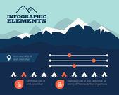 Infographic Element — Stock Vector