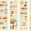 Food Infographic Template. — Stock Vector #50231637