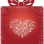 Valentine gift box — Stockvektor  #2263076
