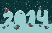 New year card — Stock Vector