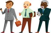 Businessmen — Stock Vector