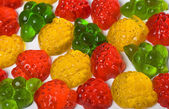 Caramelle frutta — Foto Stock