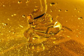 Honey Pouring Waves — Stock Photo