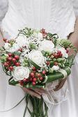 Bride's Floreal Bouquet — Stock Photo