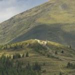 Austrian Landscape with Alps — Stock Photo