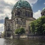 Постер, плакат: Berliner Dom view from Spree