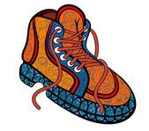 Zapatos para niños — Vector de stock