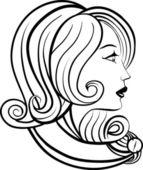 Women's time — Stok Vektör
