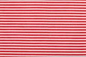 Red white horizontal pinstripe pattern — Stock Photo