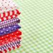 Stock Photo: Colorful fabrics