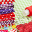 Stock Photo: Sewing set