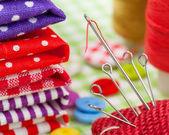 Conjunto de costura — Foto Stock
