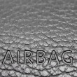 Airbag sign on a dashboard — Stock Photo #27221619