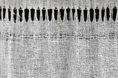 Texture of homespun rural linen cloth — Stock Photo
