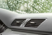 Air conditioning and car ventilation system — Stock Photo