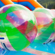 Water ball in open swimming pool — Stock Photo