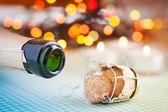 Champagne wine bottle cork — Stock Photo