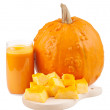 Pumpkin juice — Stock Photo #39501251