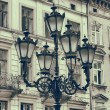 Stock Photo: Vintage stylized photo of Street light