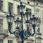 Vintage stylized photo of Street light — Stock Photo #40534447