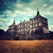 Old stylized Pidhirtsi Castle, village Podgortsy, Renaissance Pa — Stock Photo