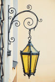 Decorative wall street lamp — Stock Photo