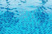 Niebieski basen wody — Zdjęcie stockowe