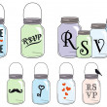 Jar designs, vector set — Stock Vector #26318527