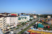 Anapa village Vitjazevo top view — Stock Photo