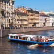Stock Photo: Rivers and channels of St. Petersburg Russia