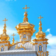 Stock Photo: Church in Petergof (Petrodvorets) Saint-Petersburg, Russia