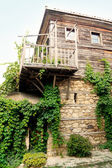 Fragment Of Old Wooden House — Стоковое фото