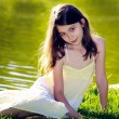 Young girl in park — Stock Photo #27515051