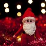 Father Christmas Santa Claus toy — Stock Photo