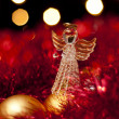 Christmas Angel decoration — Stock Photo #14051780