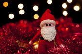 Father Christmas Santa Claus toy — Stock Photo