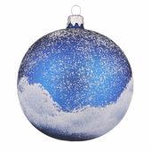 Painted christmas ball — Stock Photo